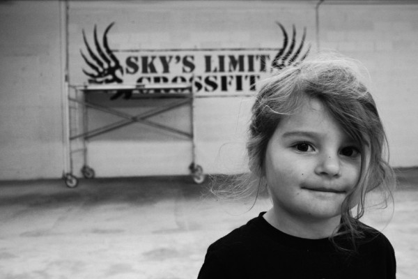 Skyler, the inspiration for Sky's Limit CrossFit